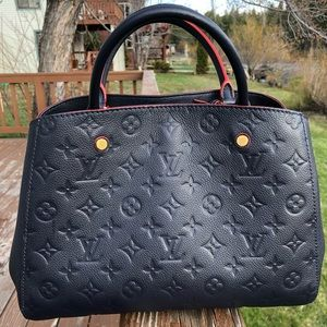Louis Vuitton Monogram Empreinte Leather Bag